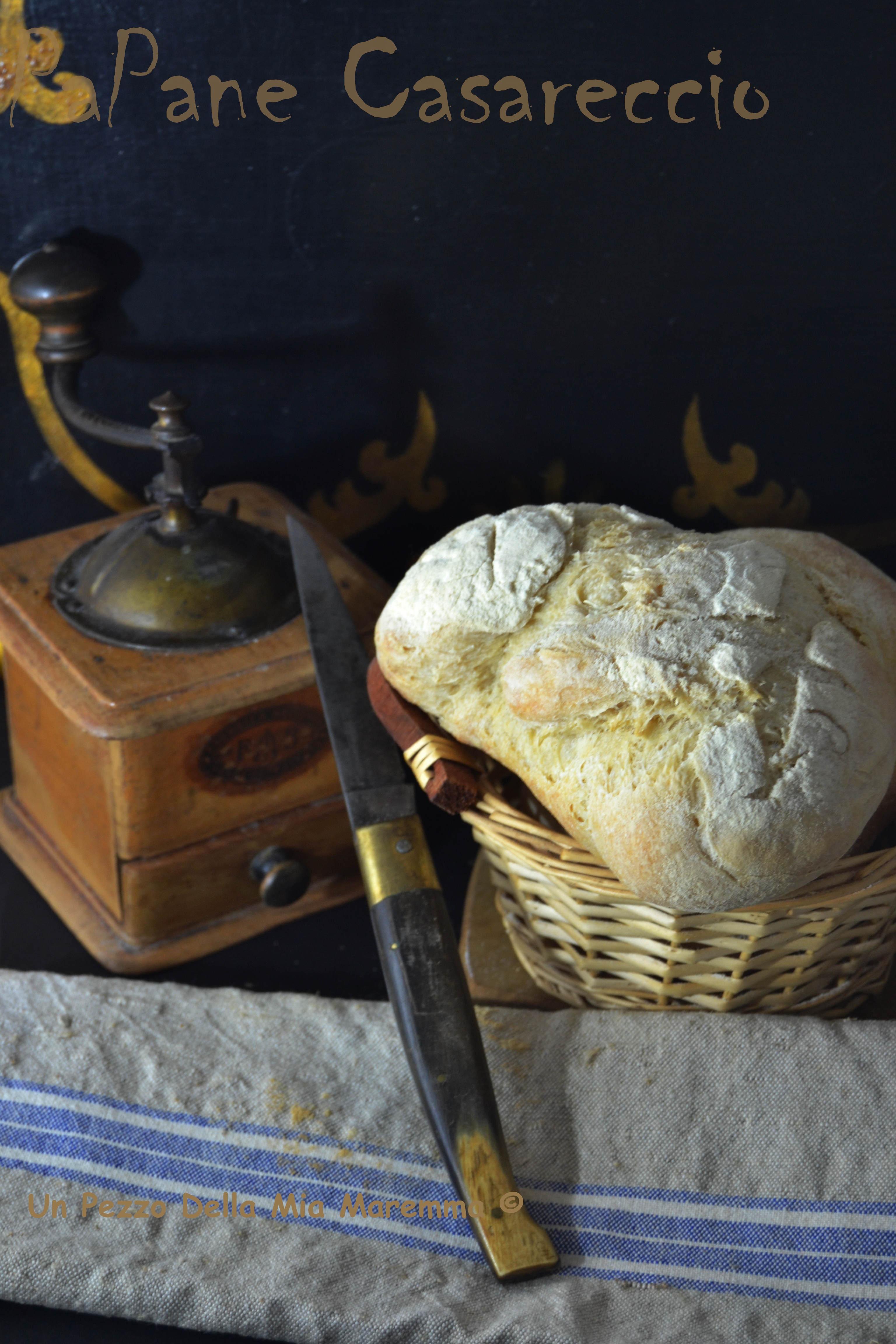 Pane Casareccio con lievito madre