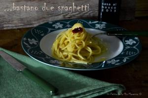 spaghetti aglio, olio