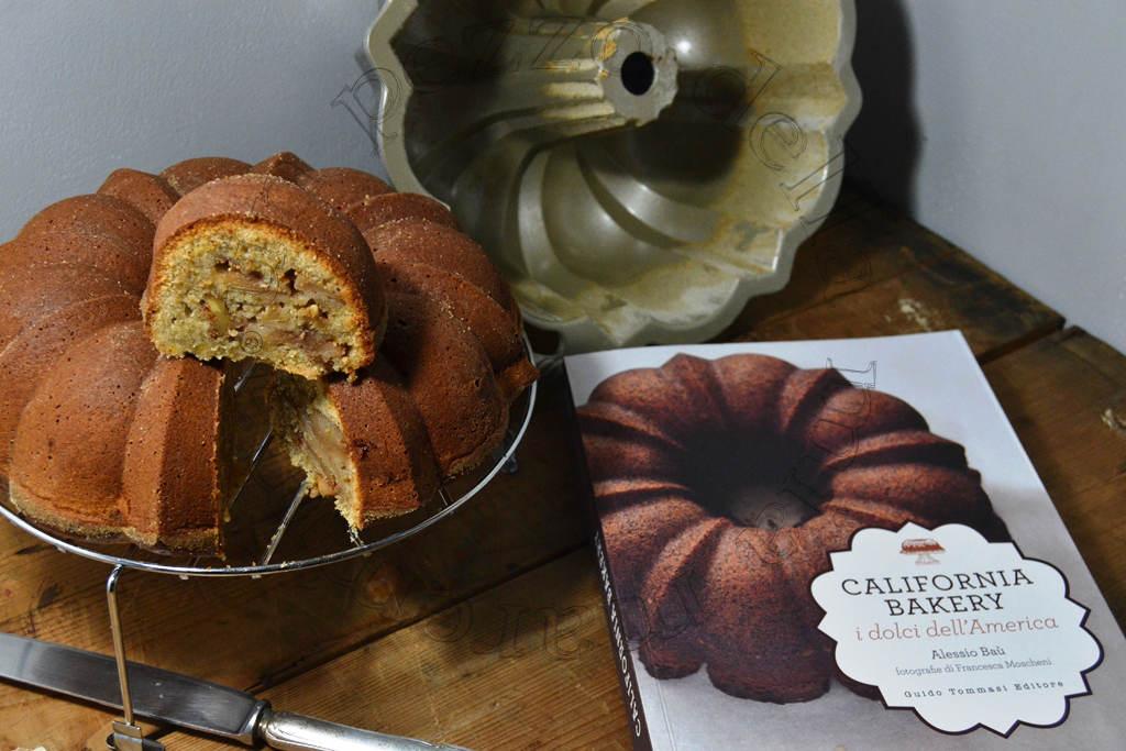 Apple Walnut Cinnamon Cake