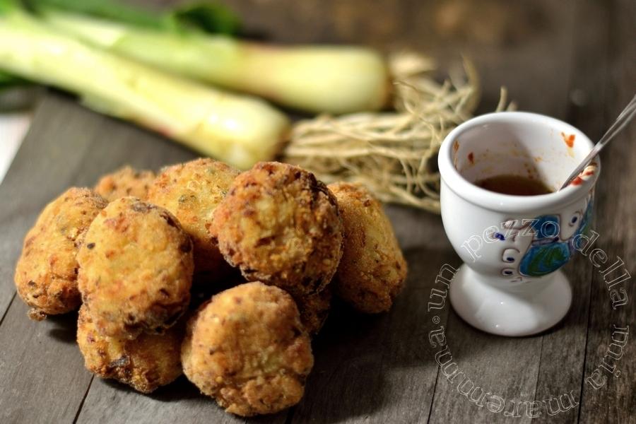 frittelle di cipolla dalla grecia