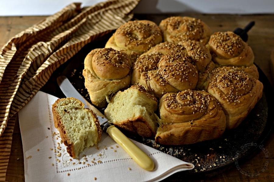 pane al sesamo bulgaro
