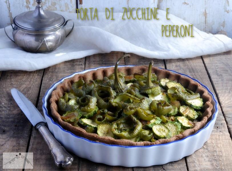Torta di Zucchine e Peperoni