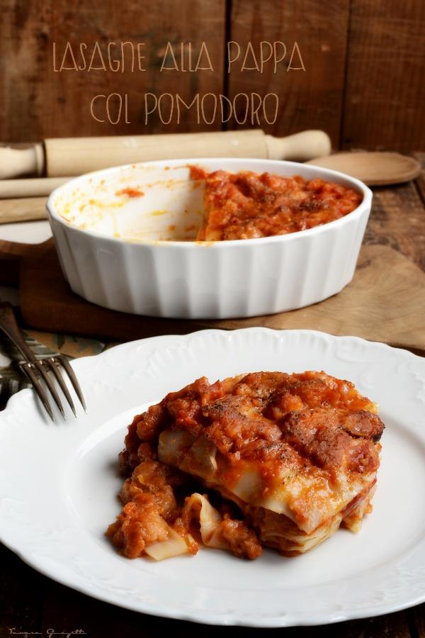 lasagne alla pappa col pomodoro